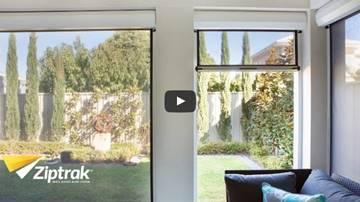 mesh sunscreen blinds