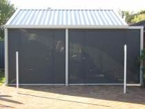 perth house with outdoor bottom lock rail blinds installed