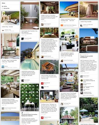 pinterest for home and design ideas