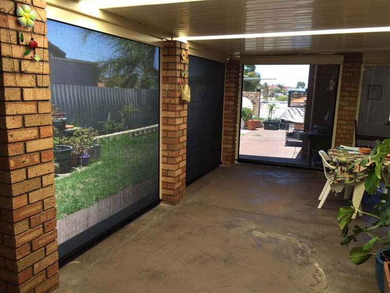 spearwood patio with new awnings