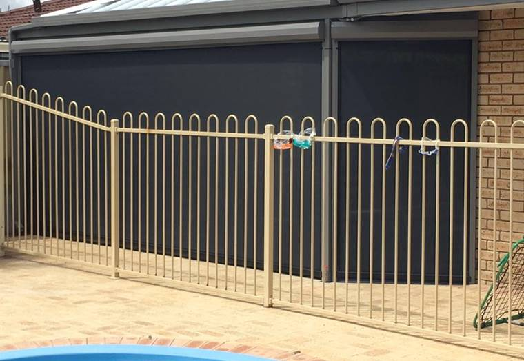 5 Metre Patio Blind Installed In Safety Bay A Amp A Perth