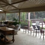 clear pvc patio blinds are ideal for outdoor areas that need more light.