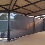 patio blinds installed in a house in padbury