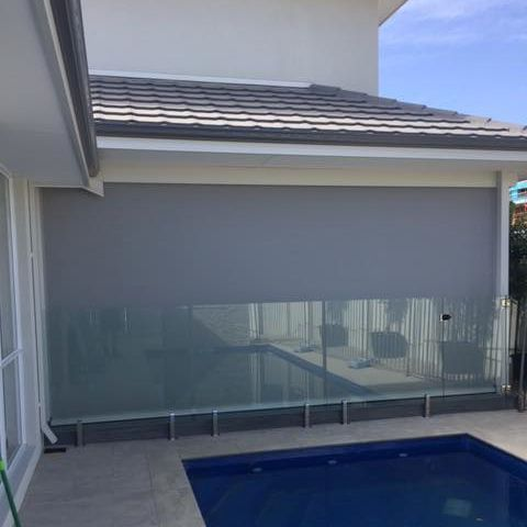 ziptrak blinds installed in home in Coogee